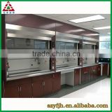 Laboratory Steel Canopy Hood/Common Type Chemical Fume Hood/Physics Experiment Lab Equipment