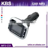 Portable convert car fm radio to car mp3 player Support SD/MMC card