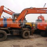 Original hitachi EX100WD-2 wheel excavator, and ex120-5,ex120-6,ex200-1,ex200-2 avaliable