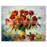 Classical Wall Flower Painting on Canvas