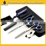 Professional japanese stainless steel 440C professional Barber Scissors Set for hairdressing salons