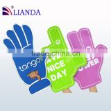factory direct sell Alibaba China Gold supplier cheap big cheering hand eco-friendly CE ROHS certificate