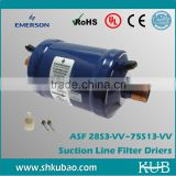 ASF series copper refrigeration suction line filter drier