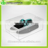 DDS-0017 Trade Assurance Shenzhen Factory Wholesale SGS Transparent Acrylic Sneaker Box