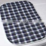 Plaid Washable Bed pads for incontinence