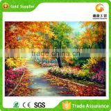 Factory supply latest design home decoration autumn photo 5d diy diamond painting by numbers with acrylic