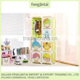 China popular plastic kids wardrobe india