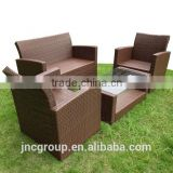 High loading quantity outdoor furniture rattan sets