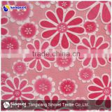hot sale polyester fabric name burnout velboa for turkey market used in sofa curtain ang toys