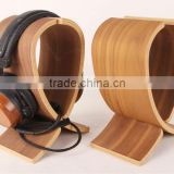 High Quality Wooden Headphone Stand, wooden earphone stand, wooden earphone holder for wholesale