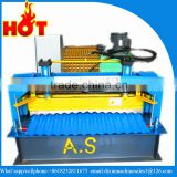 Corrugated iron roofing sheet roll forming machine/ corrugated roof tile making machinery
