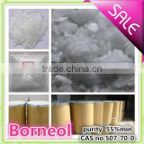 Farwell hot sale competitive price Borneol Flake in flavour and fragrance 55%MIN CAS no 507-70-0