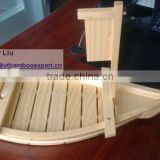 Chinese sushi boat with exquisite workmanship