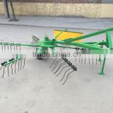 Tractor 3 point connection rotary wheel hayrake wheel hay rakes used to pick up straw and corn stover