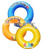 Custom logo adults and children inflatable swim ring inflatable tire swim ring