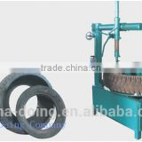 Eco-friendly used tire recycling equipment/tire retreading machine/block cutting machine