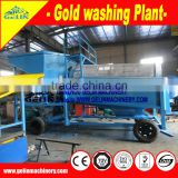 Durable Gold mineral Washing Plant
