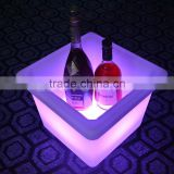 PE High Quality Bar Furniture,Modern LED Bar ice bucket,Factory Direct Wholesale LED flower port LTT-SF03