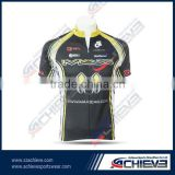 Custom sublimation reversible cycling jersy