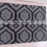 Hot sale pure color plain surface polypropylene jacquard/stripe carpet roll factory sale