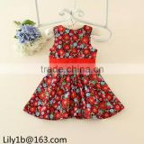 Stock Child clothes baby girls party wear dress chiffon petti princess western party wear dresses for kid