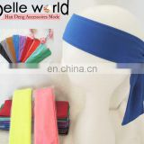 royal blue handmade sport headband for man