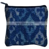 Wholesale Vintage Kantha Purse Ethnic Coin Pouch Bag
