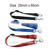 "pets supplier Dog Safety Seat Belt Restraint 12""-24"" For Car Van Lock Adjustable Pet Lead"