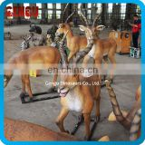 Family Garden Decoration Handmade Fiberglass Animal Replicas