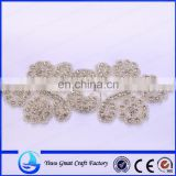 New manual nail bead bead embroidery wedding wedding dresses Crystal claw drilling accessories The bride wearing