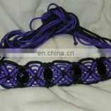 rope knot belts macrame rope belt women fashion belt