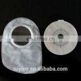 two system disposable medical colostomy bag with closed style