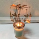 Wholesale Personalized Etching Plating Custom Shape Metal Cat Rose Gold Candle Holder