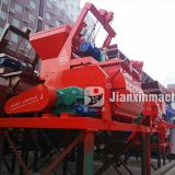 JS500 double horizontal axis forced concrete mixer