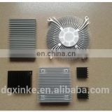 High profile aluminum extrusion element heatsink
