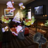 LED Stage Light 12 Types Pattern Laser Snowflake Projector lamp IP65 Waterproof Home Garden Holiday  Decoration Light