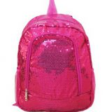 sequin fabric backpack for dance from factory directly
