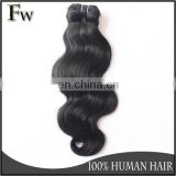 Wholesale hair weave distributors new premium factory virgin remy indian hair weft body wave black in stock