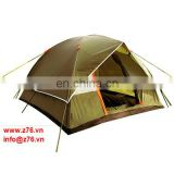 Cutomized Inexpensive Polyeste Fiberglass Portable Waterproof Light-Weight Outdoor Camping Tent