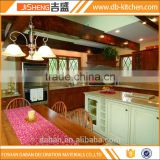 Hot sale luxury solid wood commercial kitchen cabinet furniture