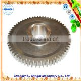 changzhou machinery Differential Spur gear Parts/ Steel Small Pinion tactical gear tractor trucks