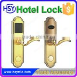 Intelligent RFID Hotel Room Popular Hotel Door Lock System Using RFID Card 125khz or 13.56mhz