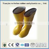 white rain boot anti-acid and greaseand cold resistance forfashinable lady