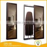 Hot sell home furniture beautiful wooden desktop ironing board / folding ironing board cabinet