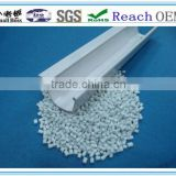 2013 Smallboss white plastic pvc granules/compounds for plastic pvc profile