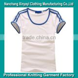 Top Fashion Wholesale Plain Blank T-Shirt Bulk Clothing Items OEM High Quality 100%Combed Cotton Bulk White T Shirts