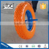 CHINA Supplier Go Cart Solid Wheel Flat Free Wheel Small PU Foam Wheelbarrow Wheel 4.80/4.00-8