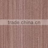 cheap colored artificial walnut wood recon face veneer made from log for decorative furniture door skin/veneer door skin prices