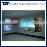Large size backlit led illuminated snap open frame for mobile store,illuminated picture frames