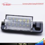 3528 SMD 18 LEDs Car License light Led Lamp Plate LED Light Lamp for bmw E36